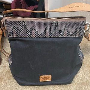 Consuela wedge shoulder bag